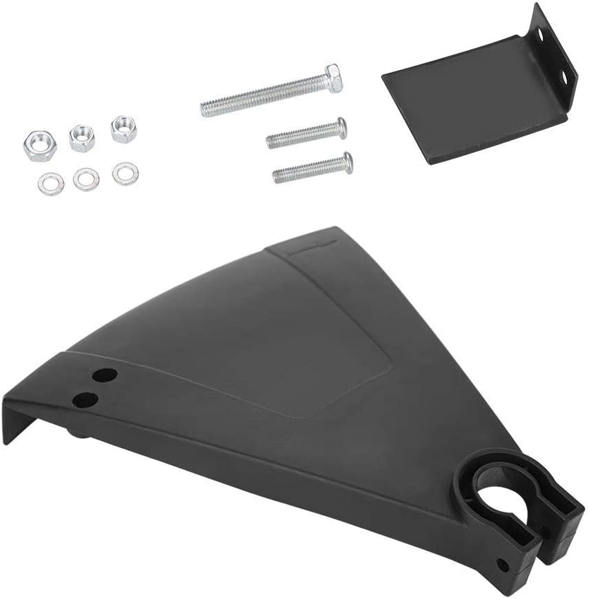 GOTOTOP Plastic Brush Cutter Guard String Grass Trimmer Cover Spare Blender Replacement Parts Protection Accessories for 25mm Weed Eater,Black