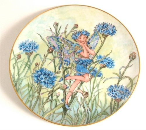 - Heinrich Villeroy and Boch Flower Fairies Collection The Cornflower Fairy CP1