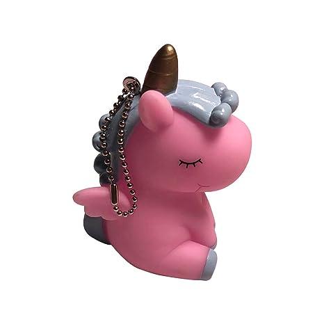 Cupcinu Colgante de Llaves de niñas Llavero Unicornio Claves ...
