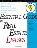 Essential Guide to Real Estate Leases, Mark Warda, 1572481609