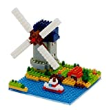Sites to See Plus Windmill Building Blocks by nanoblock