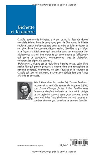 Bichette et la guerre (French Edition)