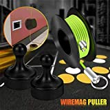 Wiremag Puller,Magnetic Fish Tape Wire Puller Guide