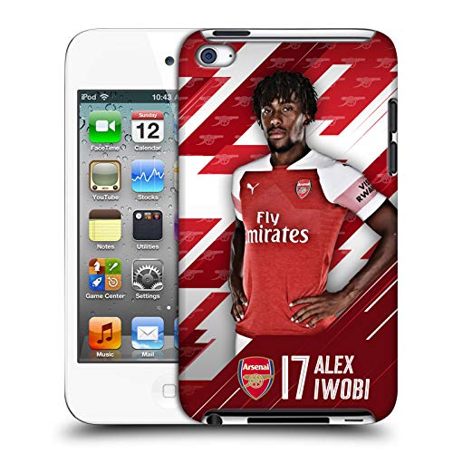 Official Arsenal FC Alex Iwobi 2018/19 First Team Group 1 Hard Back Case for Apple iPod Touch 4G 4th Gen
