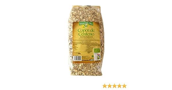Hijas Del Sol Bio Copos De Centeno - 500 gr - [Pack de 4]: Amazon.es: Alimentación y bebidas