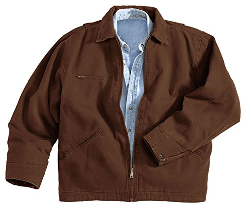 Cotton Canvas Jacket (Tri Mountain Men's 12 oz. Cotton Canvas Jacket - 4300 Oakland)