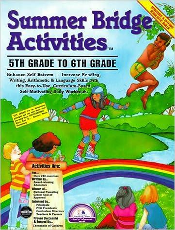 Summer Bridge Activities: 5th Grade to 6th Grade: Julia Ann Hobbs ...