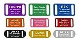 Providence Engraving Slide-On Pet ID Tag/Collar Tag, Medium, Pink