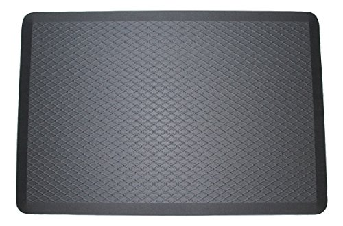 ComfortElite Anti Fatigue Mat | Made in USA | 24 x 36 x 3/4 inch | Cushion Mat For Long Time Standing Comfort | Commercial Grade Luxury Floor Mat for Office Standup Desk, Kitchen (Table Office Elite)