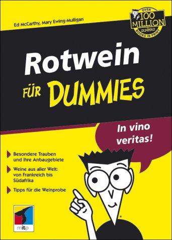Rotwein für Dummies