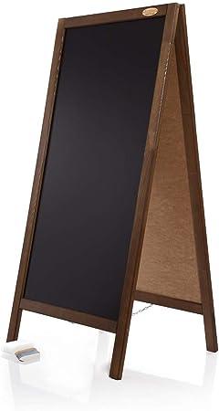 Kundenstopper 120cm Holz Tafel Aufsteller Werbetafel Holztafel Werbung