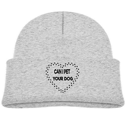 (Fzjy Wnx Can I Pet Your Dog Baby Boys Skull Caps Knit Hat)