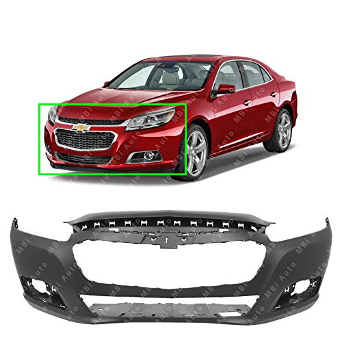 MBI AUTO - Primered, Front Bumper Cover Fascia for 2014 2015 Chevy Malibu 14 15 & 2016 Malibu Limited (Old Body) 16, GM1000962 (Body Chevrolet Malibu Auto)