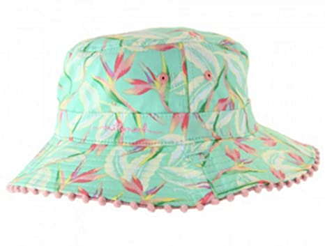 361ebe2dc Amazon.com: MILLYMOOK AND DOZER Girls Reversible Bucket HAT Paradise ...