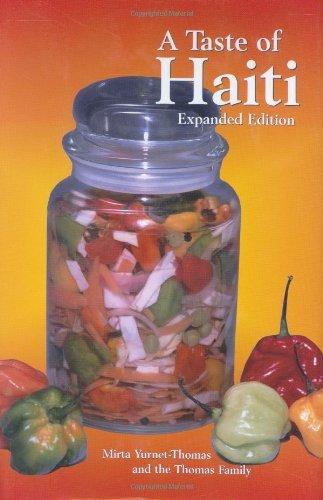 A Taste of Haiti (Hippocrene Cookbook Library) by Mirta Yurnet-Thomas