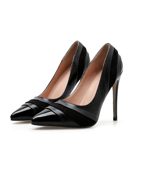 HBDLH Damenschuhe Einzelne Schuhe Schuhe Fein Hacken Elegant Koreanischen Version 11Cm Hochgesprengte Damenschuhe.