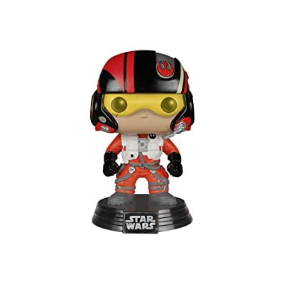 Star Wars Episode 7 Pop! Poe Dameron: Funko Pop! Star Wars:: Toys & Games