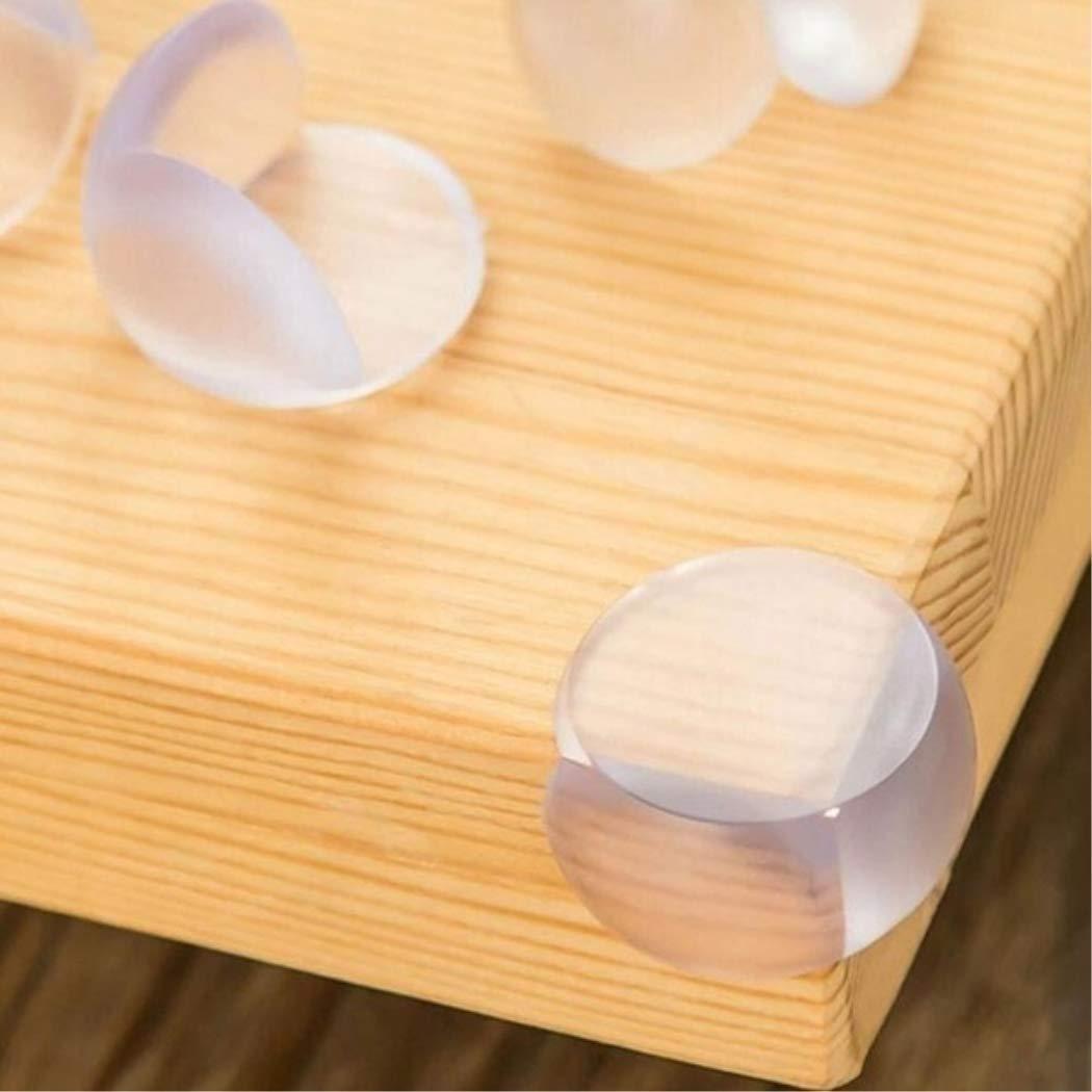 AiStickQ 4pcs/10pcs/22pcs/50pcs Baby Child Infant Kids Safety Table Desk Corner Edge Cushions Protector FastShop Transparent 50PCS