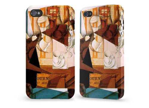 "Hülle / Case / Cover für iPhone 4 und 4s - ""Breakfast"" by Juan Gris"