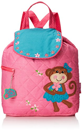 Stephen Joseph Quilted Backpack, Girl (Stephen Joseph Girl)
