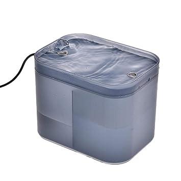 iBàste Dispensador de Agua USB Ultra silencioso de 1.5L Suministros para Mascotas Fuente Activa de