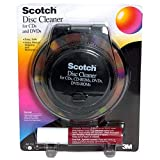 vhs head cleaning tape - Scotch Disc Cleaner for CD and DVD