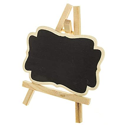 Amazon.com: Mini Blackboard, Set of 20 Wooden Small ...