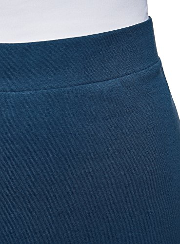 7901n Ultra Mujer lápiz Falda Básica Oodji Azul fqzYSwnqd