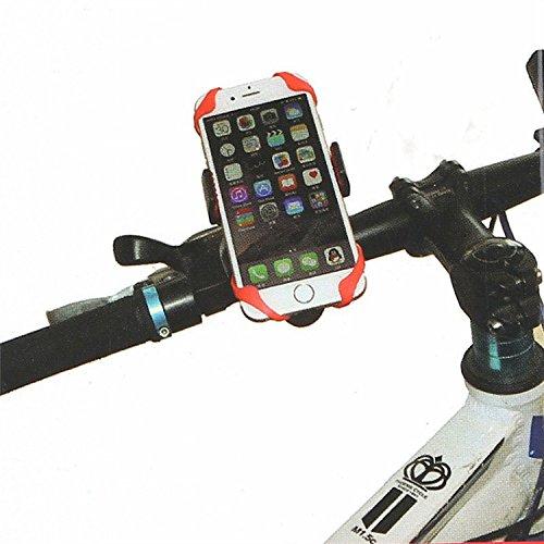 Motorcycle Phone Mount Phone Mount Bike Handlebar Mount Bicycle Computer Mount Pop Socket Cycling Phone Holder Soporte Movil Car Road Bicycle Gps Support (Black)