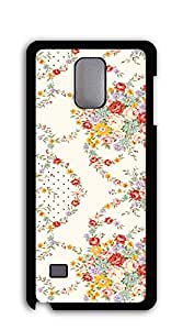 Hard Back Shell Case Cover case for samsung galaxy note4 for girls - Flower Abstract Art Original Landscape