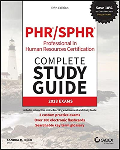 Phr and sphr professional in human resources certification complete phr and sphr professional in human resources certification complete study guide 2018 exams 5th edition fandeluxe Gallery
