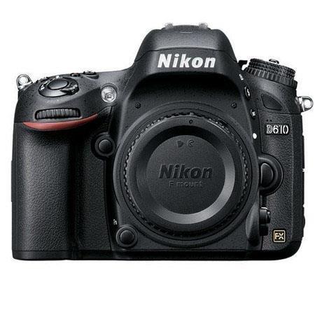 Nikon D610 FX-format Digital SLR Camera Body - Refurbished by Nikon U.S.A.
