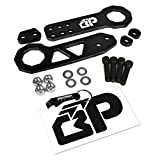 towing hook rsx - BlackPath - Universal Fit Front and Rear JDM Racing Style Tow Hook Set (Black) T6 Billet