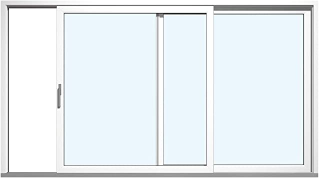 Hebe Puerta Corredera Terrazas Bisagra Puerta plástico PVC blanco todos los tamaños: Mango Bisagra Izquierda (Derecho): Amazon.es: Bricolaje y herramientas