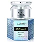 Face Mask You Can Peel Off - Peel Off Mask, Moisturizing Mask for Face, Star Mask Bling Glitter Deep Cleansing Pore Moisturizing Blackhead Remover Mask, 50ml