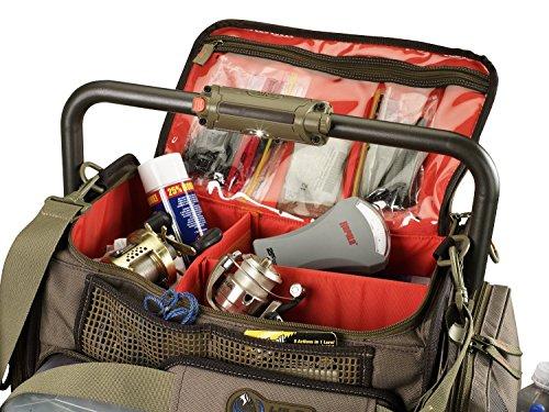 Wild River By CLC Custom Lederwaren WN3702Tackle Tek Frontier Beleuchtete Bar Griff Tackle Tasche (Tabletts nicht im Lieferumfang enthalten) GmQZdP