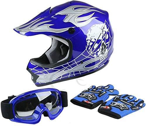 TCT-MT Helmet Goggles+Gloves New