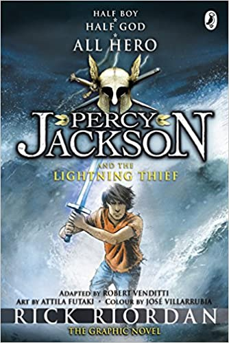 buy percy jackson and the lightning thief the graphic novel percy