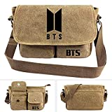 Kpop BTS Bangtan Boys Messenger Bag Vintage Canvas