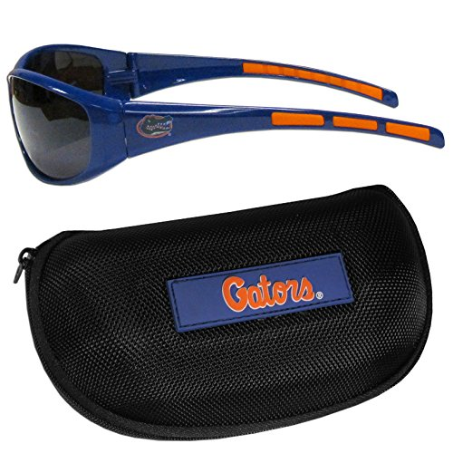 (Siskiyou NCAA Florida Gators Wrap Sunglasses & Zippered Case, Blue)