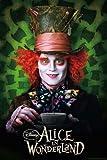 "Alice In Wonderland - Movie Poster (The Mad Hatter / Johnny Depp) (Size: 27"" x 39"") (Poster & Poster Strip Set)"