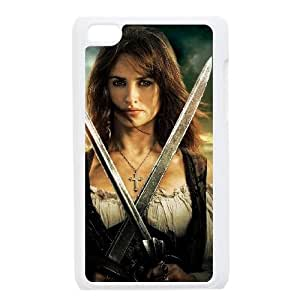 Pirates of the Caribbean iPod Touch 4 Case White Phone cover L7758995