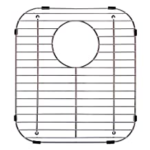 """Franke USA FGD75 Stainless Steel Universal Double Bowl Sink Grid with Rear Drain, 13.13"""" x 11.63"""""""