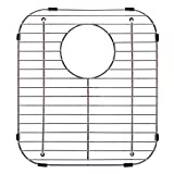 Franke Evolution Universal 13.1-inch x 11.6-inch Double Bowl Sink Protection Grid in Stainless Steel with Rear Drain, FGD75