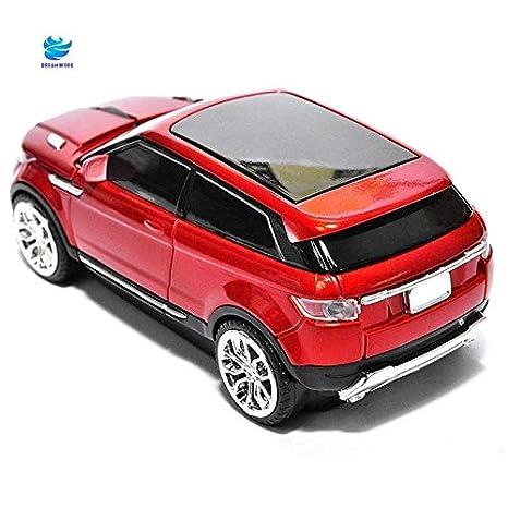 TFXHGGM Souris d'ordinateur en forme de voiture optique super sans fil de sport de 2.4Ghz Land Rover pour PC (Color : Like the picture)