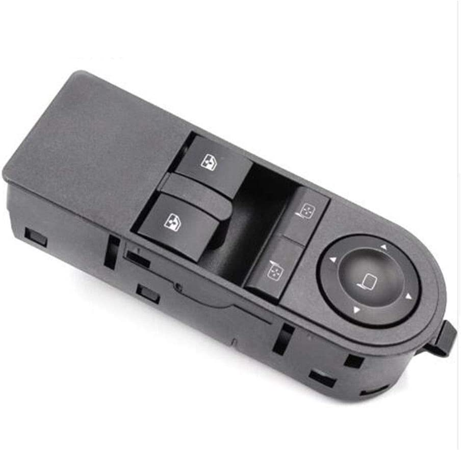 Globalflashdeal 13228879 Front Door Electric Window Switch for Vauxhall Astra H /& Zafira B