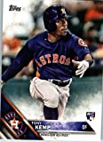 2016 Topps Update #US203 Tony Kemp Houston Astros Baseball Rookie Card in Protective Screwdown Display Case