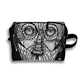 Tattoo Man Travel Cosmetic Bag Portable Makeup Pouch Pencil Holders