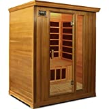 Crystal Sauna FWC300 3-Person Family Infrared Sauna in Red Cedar Review