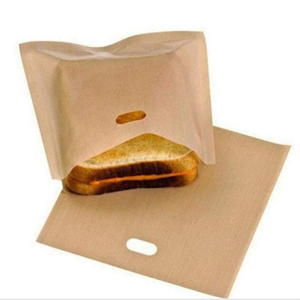 DodoBee 20 Pcs Non-Stick Toaster Bags Heat Resistant Kitchen Reusable Toaster Bag